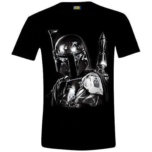 Star Wars Boba Fett T Shirt (Schwarz) Schwarz