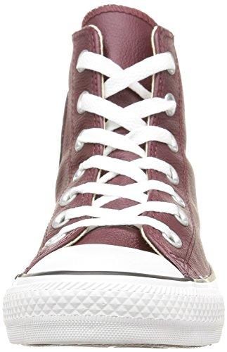 Converse  Ct Core Lea Hi,  Sneaker unisex adulto Deep Bordeaux