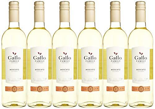 Gallo Family Vineyards Moscato Ernest und Julio  Süß (6 x 0.75 l)