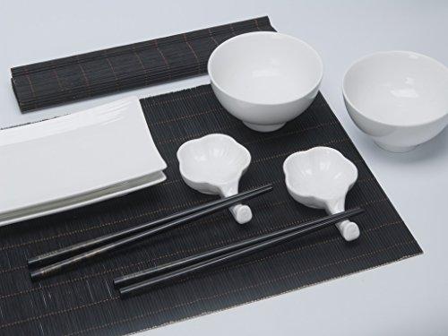 Stile di vita urbano sushi set