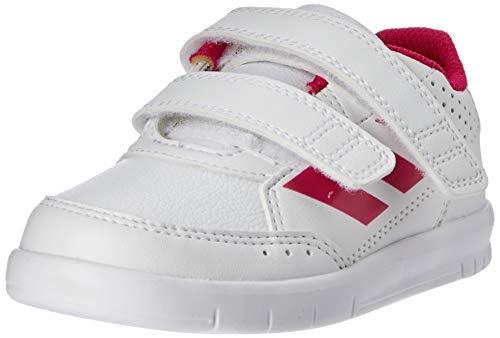 Adidas Altasport CF, Zapatillas Unisex Niños, Blanco Footwear White/Bold Pink/Footwear White 0, 25.5...