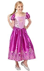 Rubies 640723 - Gema oficial de Disney Princesa Rapunzel para disfraz de princesa (140 cm de altura, 9 a 10 años)