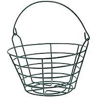 BESPORTBLE Canastas de Almacenamiento de Golf Cubos de Metal para Pelotas de Golf Contenedor de Almacenamiento de Bolas para Exteriores