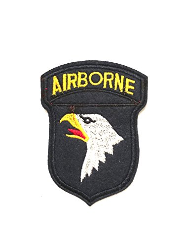 desertcart Oman: Airborne Division Screaming Eagles Embroidered Iron
