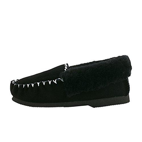 Pantofole Da Donna Shenduo Eco-pelliccia Stivali Invernali D9529 Nero