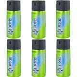 6 x Axe Anti Hangover Deospray Deo Bodyspray