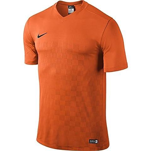 Nike III Jersey a maniche corte Top Energy, Multicolore (Arancione/nero), L - Arancione Nike Jersey