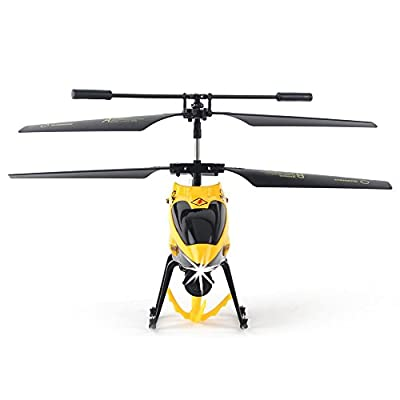 Remote Control Helicopters - 3CH Channel Gyro RC Helicopters with Winch & Carry Basket, LED Search Light Mini Indoor Outdoor IR Radio Controlled RC Heli for Kids Toys
