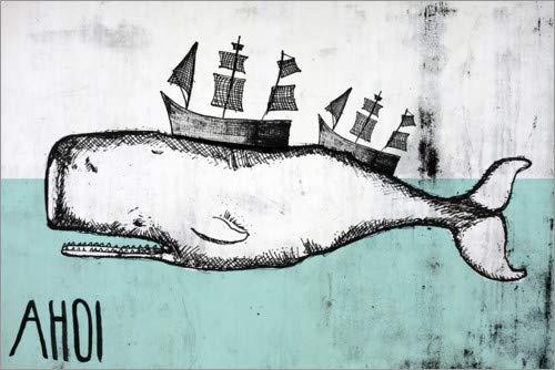 Posterlounge Lienzo 180 x 120 cm: Ahoy
