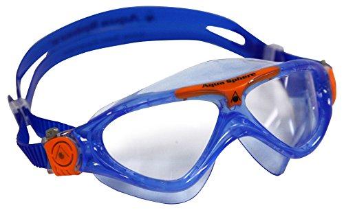 Aqua Sphere Kinder Schwimmbrille blau Einheitsgröße