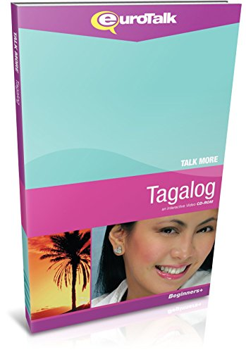 Talk More Tagalog: Interactive Video CD-ROM - Beginners+ (PC/Mac)