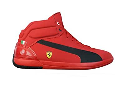 Puma SF Ferrari Driving Power Light EUR 40,5 UK 7 Mid High Sneaker Schuhe Stiefel