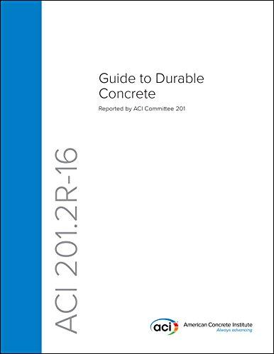 Read ACI 201 2R-16: Guide to Durable Concrete PDF
