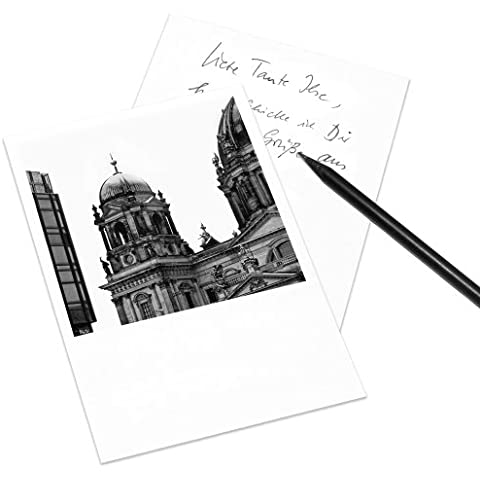 Tarjeta postal Berlín en el estilo de Polaroid - retrato DIN A6 - Arquitectura Alemania - Tema: Berlíner Dom