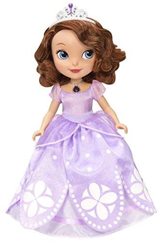 Mattel Disney Sofia Die Erste 25.4cm Basic Puppe, Rosa und Lila (Prinzessin Training Disney)
