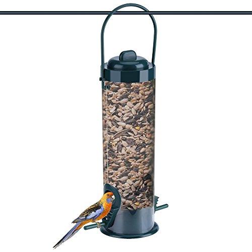 Dewin-Mangiatoie-per-Uccelli-Giardino-Esterno-in-plastica-Trasparente-Appeso-Alimentatore-di-Uccelli-Selvatici-stoccaggio-Contenitore-di-Semi-1Pcs
