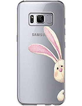 vanki Custodia Samsung Galaxy S8 Plus, Samsung Galaxy S8 Plus Cover Morbida di TPU Silikon Cristallo Trasparente...