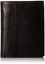 Fossil Black Mens Wallet (ML3780001)
