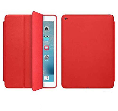 JETech Hülle für iPad (9,7 Zoll, Modell 2018/2017, 6. / 5. Generation), Intelligent Schutzhülle mit Auto Schlafen/Wachen, Rot