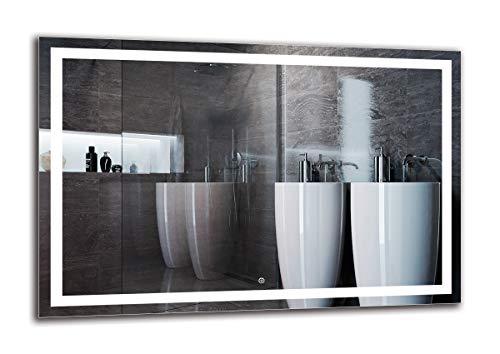 Espejo LED Deluxe   Dimensiones Espejo 120x80 cm