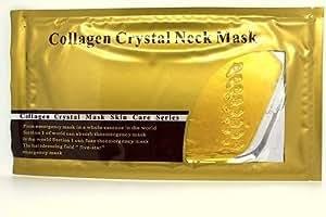 24K GOLD collagène cou Masque Anti-âge Anti-rides Masque cou Neck Mask