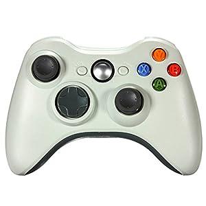 Althemax® Neue drahtlose drahtlose Schlag-Spiel Joypad Steuerpult für Xbox 360 – Weiß