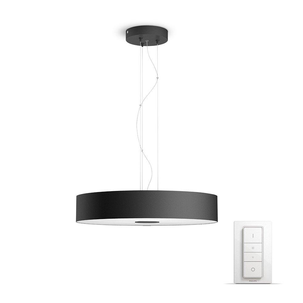 Philips Luminaire télécommandé Fair Suspension Hue + télécommande variateur de lumière