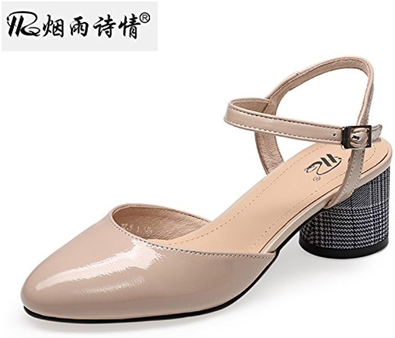 686d48cbf0ce0e sfsyddy creux talon bruts des chaussures de de de femmes baotou moyen  sandales été des chaussures à talons.b07d6bcwqm parent | Good Design 83c136