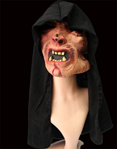 GZD Super Horror Bar Halloween Grimasse Kopfbedeckung Variation Übelkeit Reißzähne Verdorbenes Fleisch Vampir (Verdorben Kostüm)