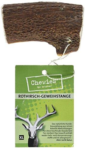 hundeinfo24.de Chewies Rothirsch-Geweihstange, XL, 1er Pack (1 x 160 g)