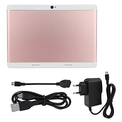 Tablette 10.1 Zoll Android, HD Tablette beweglicher Metallfall Tablette PC mit Doppelkamera 16G Bluetooth WiFi Tablette stützen externen Zugang zur Tastatur und zur Maus(Rosa) (Nextbook Mäuse Für)