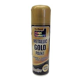 Shopping Sky Metallic Gold Spray Paint All Purpose DIY Interior Exterior Use Colour Aerosol