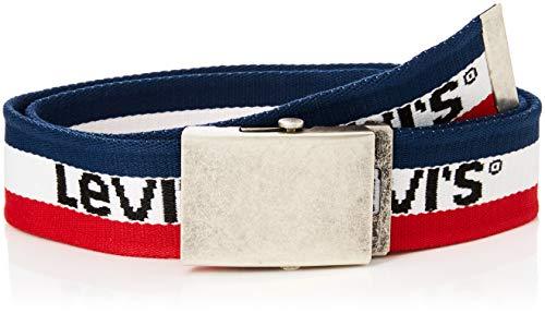Levi's kids belt nm91027, cintura bambino, blu (dark blue 48), large (taglia produttore: 95)