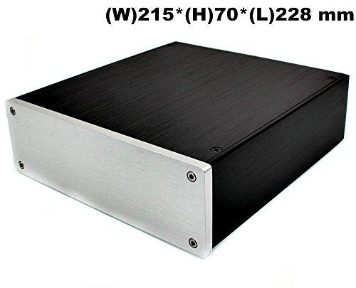Nobsound® Aluminum Amplifier Enclosure/HiFi DAC Chassis/Preamp