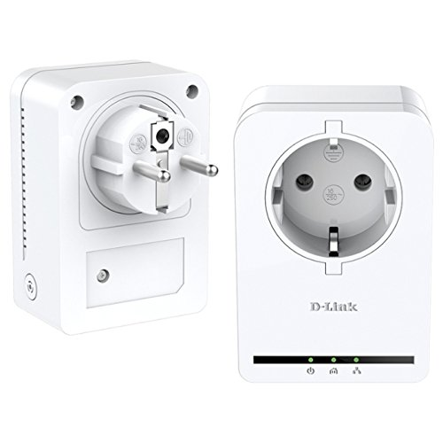 D-Link DHP-P309AV PowerLine AV Passthrough Mini Adapter Starter Kit (Bridge-networking-kit)