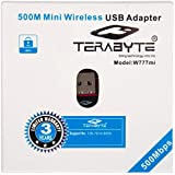 Terabyte Mini 2.4Ghz Wireless Wi-Fi Dongle (Black)