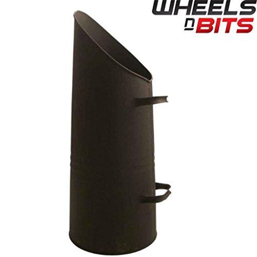 Preisvergleich Produktbild Neue j-home Fire Seite Kohlenschütte schwarz Gusseisen Pulver, 60cm 61cm