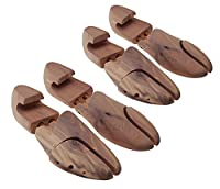 Max No. 2 cedar wood shoe trees (set 2 pairs), by MTS shoecare (EU 41 / UK 7,5 / US 10)