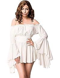 Unbekannt Women's Blouse off-white crème-white