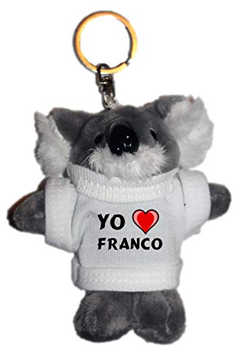 Shopzeus Coala Peluche Llavero Amo Franco Camiseta