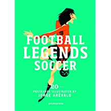 Football Legends Soccer - 20 Postcards