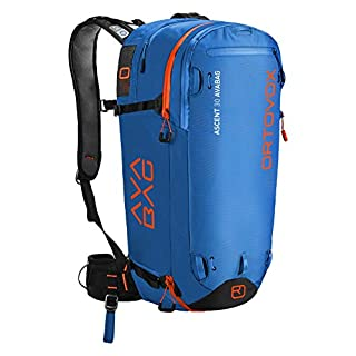 Ortovox Unisex-Erwachsene Ascent 30 Avabag Kit Rucksack, Blau (Safety Blue), 24x36x45 centimeters