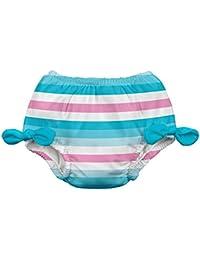 iplay Mädchen Schwimmwindel Badewindel Hot Pink Stripe Flower