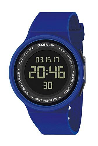 pasnew-446 Kinder Uhren mädchen Uhren Womens Uhren digital - Sport - Uhren mit Alarm wasserdicht multifunktionale Mode armbanduhren
