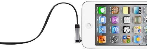 Belkin flaches Audio-Kabel (3,5 mm auf 3,5 mm mit abgewinkeltem Klinkeanschluss, 0,9 m) schwarz Flache Hdmi-digital Audio