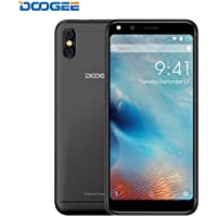 Smartphone in Offerta, DOOGEE X53 Dual SIM Telefonia Mobile, 4G Smartphones Android 7.0, MT6750T Quad Core, 5.3 Pollici HD Schermo, 1GB RAM + 16GB ROM, 5.0MP Fotocamera Digitale, 2200mAh (Nero)