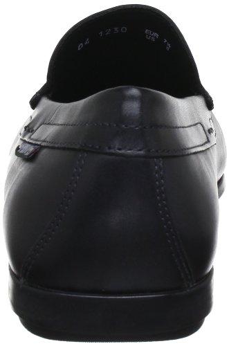 Mephisto Mens Algoras Leather Shoes Noir