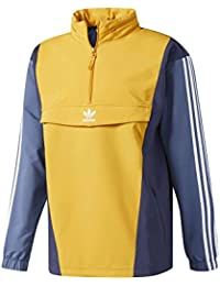 Adidas Blocked Anorak, Hombre, Azul (Azutra/Tintec), 2XL