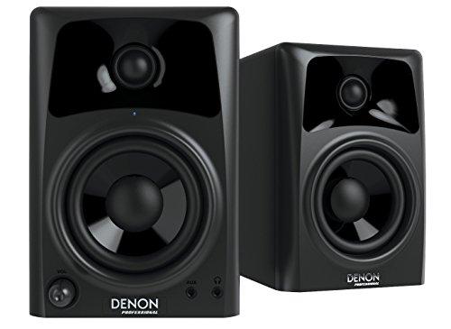 Denon dn-304s 40W schwarz Lautsprecher–Lautsprecher (Tischplatte/Bücherregal, nicht enthalten, Flur, Bühne, Frontlader, Eingebaut, 2-Wege) (Bücherregal-paket)