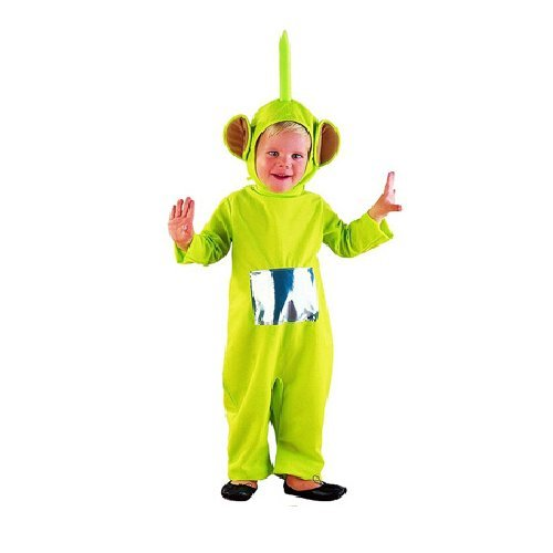 Costume bambino teletubbies dipsy taglie varie (1-3 anni)
